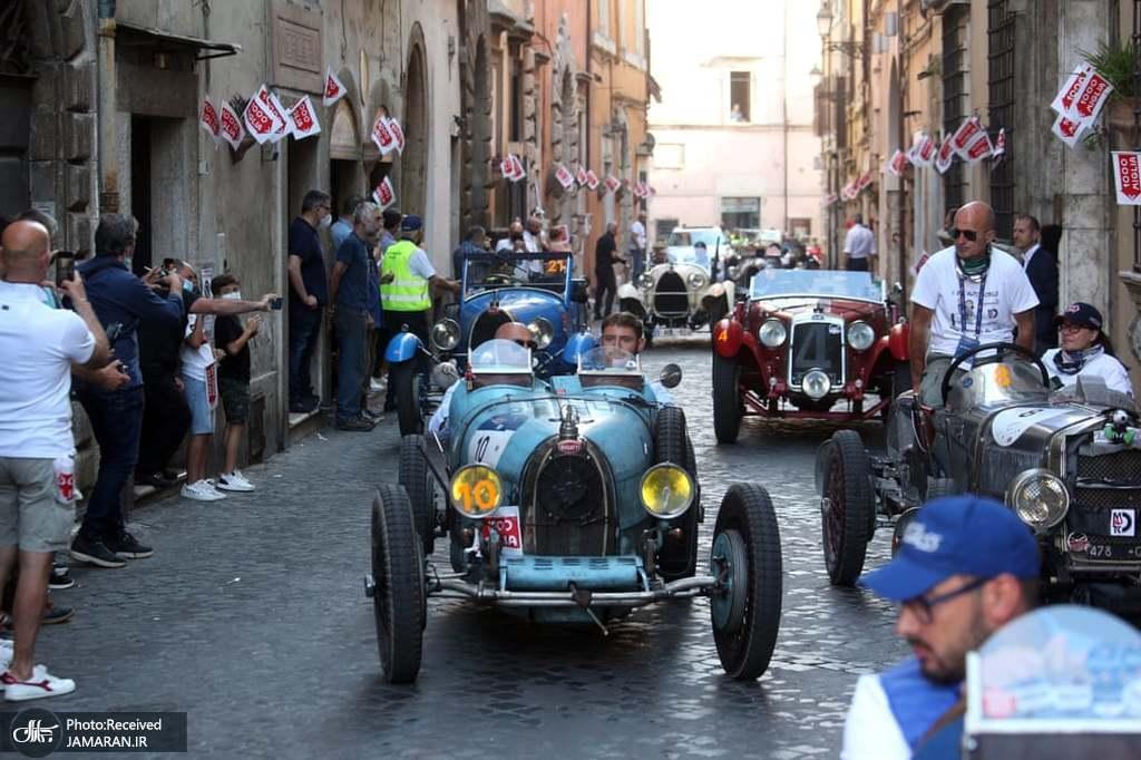 رالی خودروهای قدیمی و کلاسیک در ایتالیا