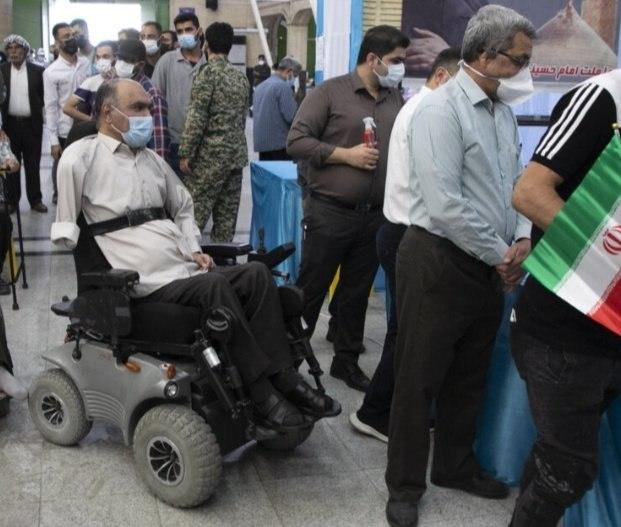 عکس/ جانبازی که تا آخرین نفس پای کار ایران ماند