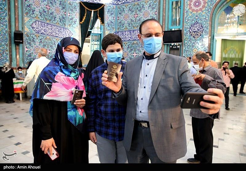 عکس/ یادگاری از روز انتخابات 1400