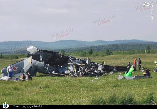سقوط مرگبار هواپیما در «سیبری» روسیه