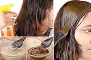 هایلایت مو با مواد طبیعی و بدون دکلره