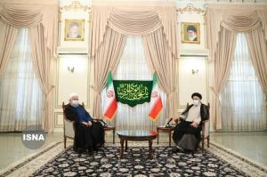 توئیت معزی درباره دیدار روحانی با رئیسی: آغاز اخلاقی و مدنیِ فرآیند انتقال امانت و مسئولیت