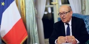 لودریان: جنگ لفظی ترکیه و فرانسه به آتشبس ختم شد