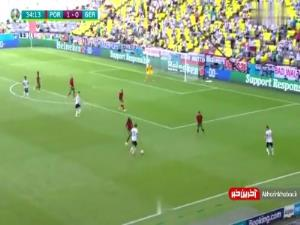 گل اول آلمان به پرتغال