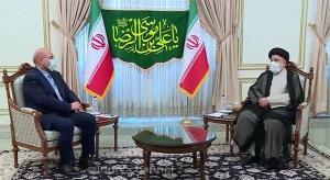 رئیس مجلس هم به دیدار رئیس جمهور منتخب مردم رفت