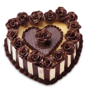 ترفند تزئین کیک قلبی زیبا