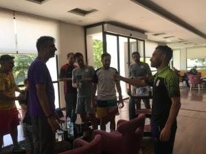 دیدار سرمربی و کاپیتان تیم ملی با عادل فردوسیپور