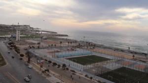 تبدیل پادگان ارتش قذافی به مجتمع تفریحی در لیبی