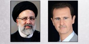 بشار اسد به رئیسی پیام داد