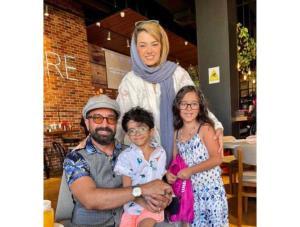 چهره ها/ دلنوشته مجید صالحی و همسرش برای سالروز تولد فرزندانشان