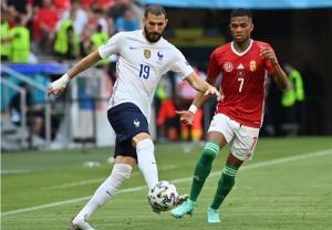 برتری مجارستان مقابل فرانسه در نیمه اول