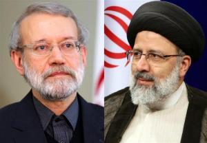 پیام تبریک علی لاریجانی به رییسی
