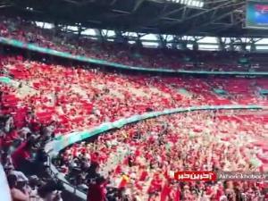 حضور پر شمار طرفداران فرانسه و مجارستان در ورزشگاه پوشکاش آرنا