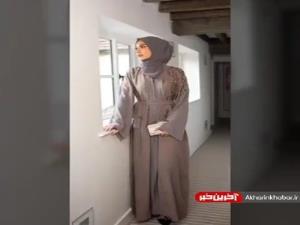 کالکشن مدل مانتو عربی پوشیده