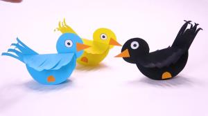 پرنده های رنگی بسازید برای اوقات فراغت کودکان
