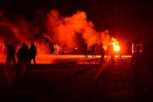 ۷ زخمی در پی درگیری پلیس و معترضین در فرانسه