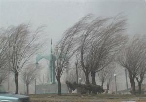 وزش باد شدید در شرق کشور