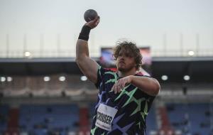قهرمان پرتاب وزنه المپیک رکورد جهان را شکست