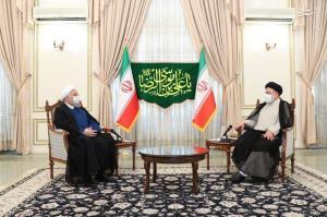 عکس/ دیدار روحانی با رییسجمهور منتخب