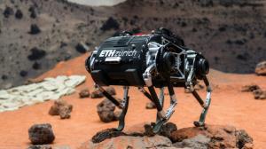 اولین ربات چهار پای مریخ رونمایی شد