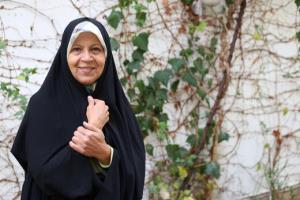 فائزه هاشمی حضور در انتخابات و رأی دادن به همتی را تکذیب کرد
