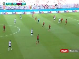 گل دوم آلمان به پرتغال
