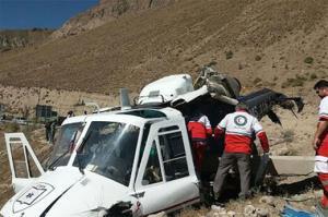 سقوط بالگرد در دزفول یک کشته و ۱۱ زخمی بهجا گذاشت