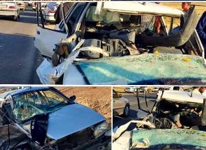تصادف مرگبار در محور روانسر ۵ کشته و زخمی برجای گذاشت