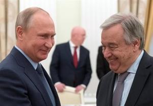 استقبال روسیه از ابقای گوترش در سمت دبیرکلی سازمان ملل