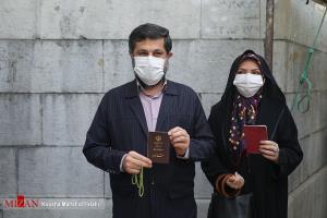عکس/ استاندار سابق خوزستان به همراه همسرش