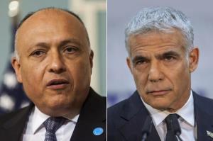 نخستین گفتگوی تلفنی وزرای خارجه مصر و رژیم صهیونیستی