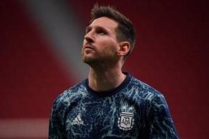 مسی بهترین بازیکن دیدار با اروگوئه شد