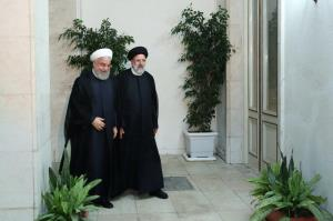 روحانی به دیدار رئیس جمهور منتخب رفت