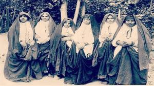 تصاویر مد و پوشاک زنان قجری؛ کمی عجیب اما منطقی