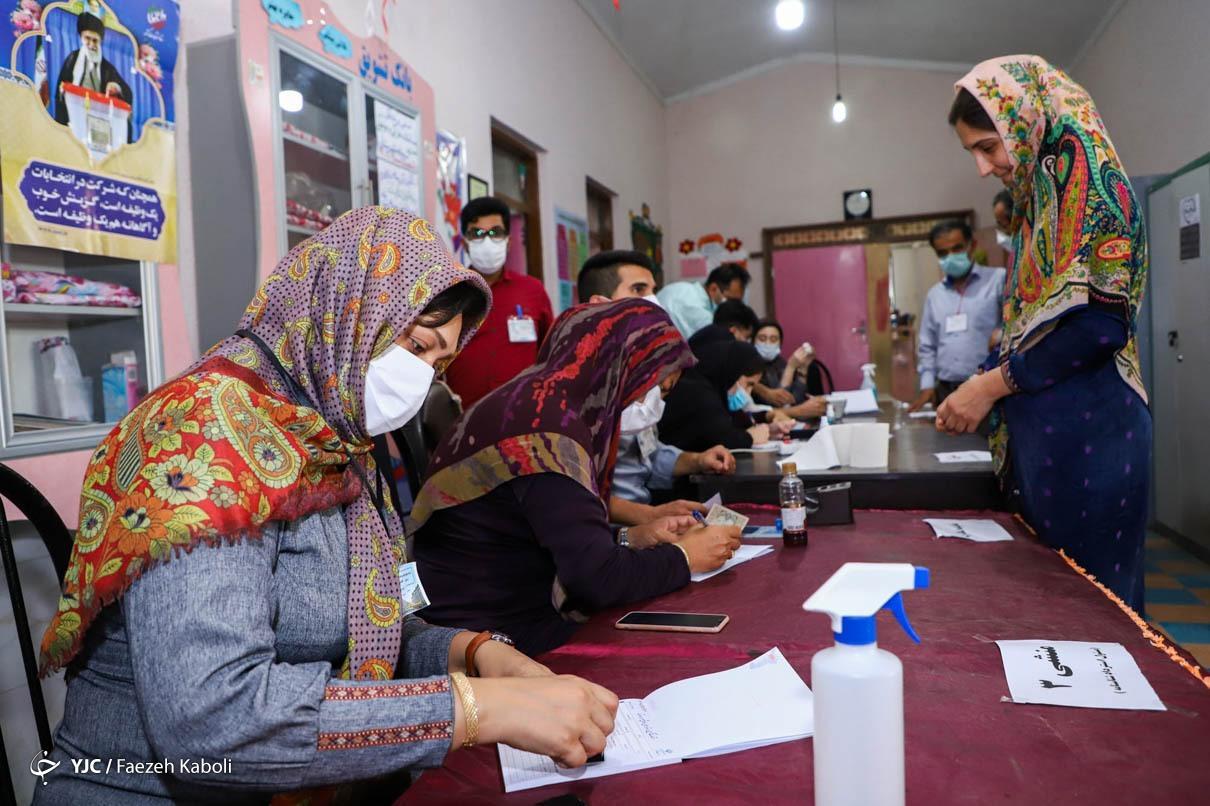 حضور اهل سنت گلستان در انتخابات