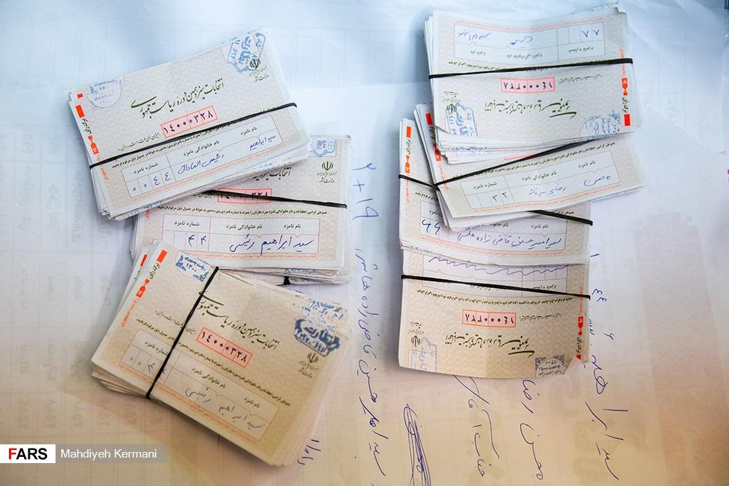 عکس/ شمارش آرای شعب اخذ رای در تهران