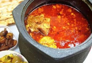روشی عالی برای تهیه «دیزی سنگی سنتی» معروف ترین غذای ایران