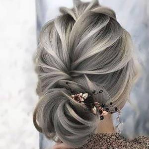 آموزش شنیون مو فوری بسیار زیبا در خانه