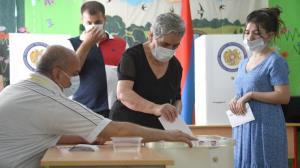 اولین انتخابات در ارمنستان پس از جنگ قره باغ
