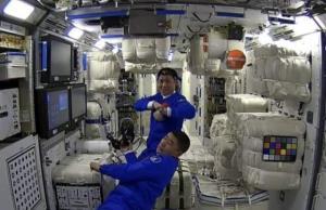 تجهیز ایستگاه فضایی چین به تجهیزات و مواد غذایی