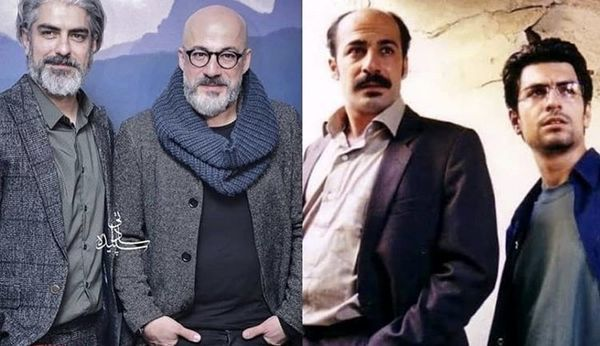 عکس های قدیمی و خاطره انگیز بازیگران مرد سینمای ایران