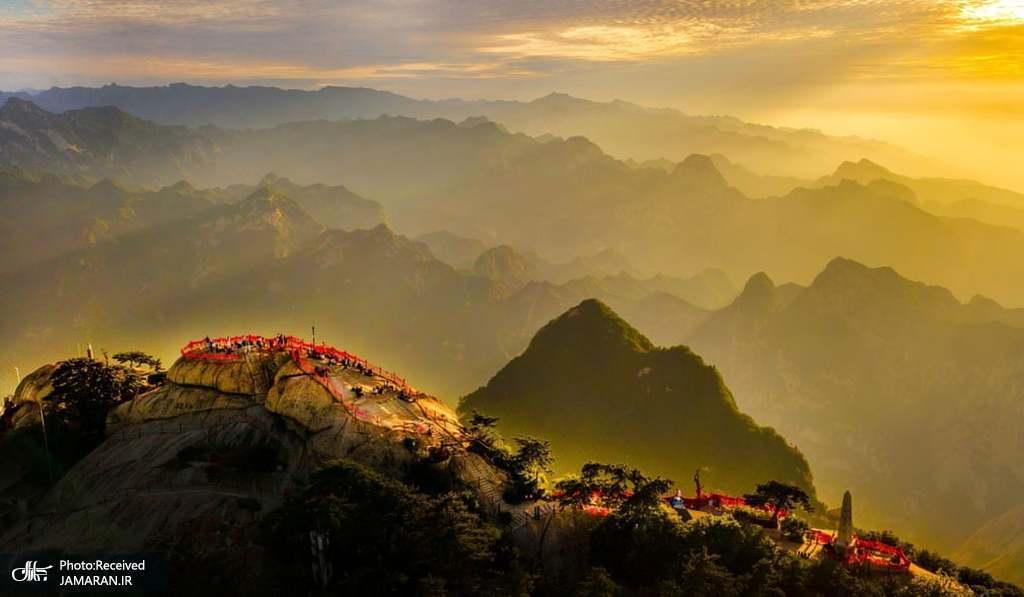 طبیعت زیبای کوه هوآ در چین