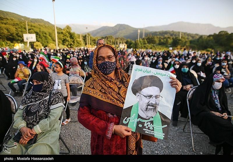 جشن پیروزی انتخابات در گرگان