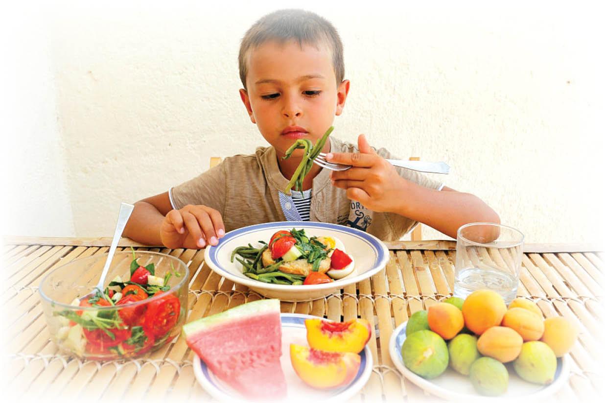 مواد غذایی مناسب برای افزایش سیستم ایمنی ۵ تا ۶ سالهها