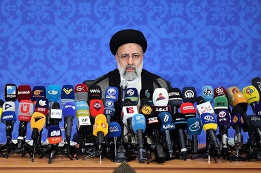 بازتاب گسترده نخستین نشست خبری رئیس دولت سیزدهم در رسانه های خارجی