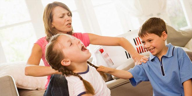 چطور دعواهای فرزندان مان را مدیریت کنیم؟