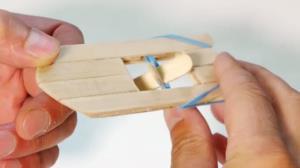 ساخت قایق پارویی با چوب بستنی