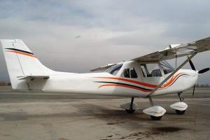 خط تولید هواپیماهای سبک در اراک راه اندازی شد