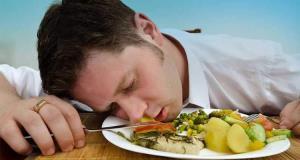 غذا باعث خواب آلودگی می شود؟