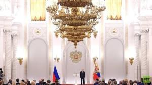 پوتین خواستار برگزاری انتخابات علنی و شفاف شد
